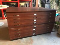 Plan Chest Architects Drawers A0