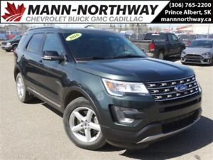 2016 Ford Explorer XLT | Remote Start, Leather, Cruise, AWD.