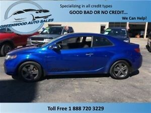 2010 Kia FORTE KOUP 2.0L EX! ALLOYS! AC! FINANCE NOW!