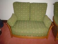 Ercol two seat Sofa, very good condition, ready to go, ideal for a conservatory.
