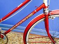 BSA Star .. beautifull Vintage city bike Pristine rare