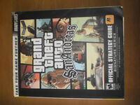 Grand Theft Auto San Andreas Brady Games Offical Strategy Guide