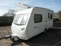 TWO BERTH 2008 CARAVAN WITH MOTOR MOVER