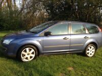 FORD FOCUS 1.8 TDCI SPORT DIESEL ESTATE YEARS MOT - LOW COST ROAD TAX -ALLOY WHEELS/AIR CON/CD