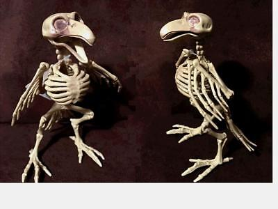 Rat or Bird Poseable Skeleton Halloween Props Gift Home Office Party Table Decor - Halloween Decorations Office
