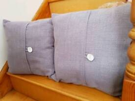 2 large cushions from Next, light purple/lilac
