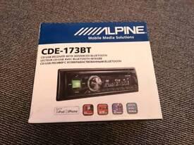 Alpine CDE-173BT Headunit CD MP3 Player