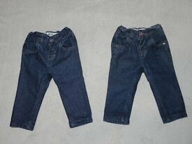 2 x Baby boys skinny jeans from NEXT. Size 3-6 months TWINS