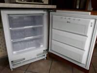 CDA integrated under counter freezer