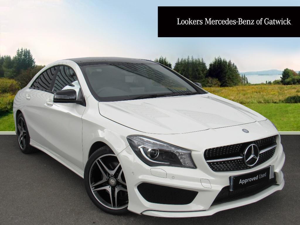mercedes benz cla cla 220 d amg line white 2016 03 01 in crawley west sussex gumtree. Black Bedroom Furniture Sets. Home Design Ideas