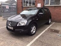 2007│NISSAN QASHQAI 5dr│1 LADY OWNER │HPI CLEAR │FULL SERVICE HISTORY