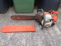 Stihl chainsaw 08s not working