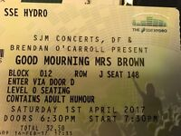 Mrs Browns boys ticket