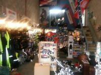 Small Motorcycles business for £10,000. Lexmoto dealership, clothing outlet, show room and workshop