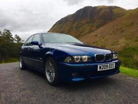 2000 (W) BMW M5 5.0L V8 E39