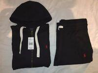 Ralph Lauren Tracksuit: Black / Grey / Navy - S M L XL ( Stone Island, Armani, Ralph Lauren )