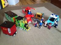 Collection of Postman Pat Toys