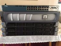Complete Setup 3 X HP G8 Servers + NetApp FAS2200 + 3560-X Cisco Switch - Offers Accepted