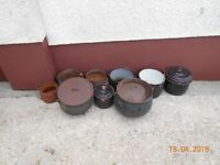 selection of pots