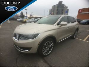 2017 Lincoln MKX TECH, DRVR, TOUR, SECURITY & LUXRY PKG'S!