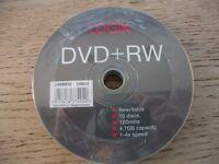 DVD + RW DISCS