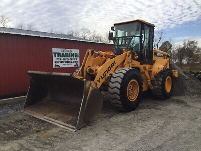 2007 Hyundai HL740-7 Wheel Loader w/ Cab Heat & A/C One Owner Only 1900 Hours!
