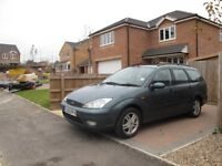 Ford Focus 2002 for sale with 10-months MOT. The first person who sees it buys!