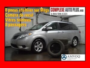 2015 Toyota Sienna LE 8 passagers *Camera recul,Bluetooth,Mags,