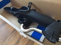 NEW GENUINE VW BIKE CARRIERS - GOLF MK7 - SALE IS FOR 2 (BOTH NEVER USED)