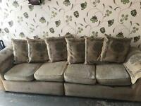 L shaped sofa free to collector