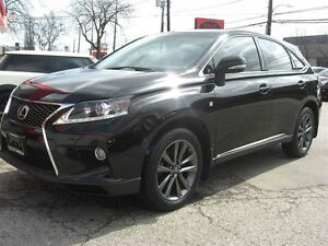 2013 Lexus RX 350 F Sport AWD *Nav / Sunroof / Leather*/ Rear Ca