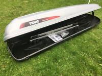 Audi Roof Bars and Thule Polar 500 Roof Box