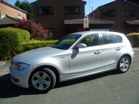 BMW Silver 116i SE 1 Series 59 Sept 2009 39,843 Low Mileage 5 Door 7 Speed Hatchback £5750