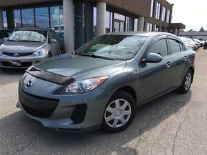 2012 Mazda MAZDA3 GS SEDAN, SKYACTIV & BLUETOOTH