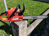 Green blade chain saw as new! Not strimmer, headge trimmer