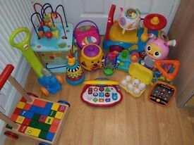 Bundle or individual learning toys from 6mnths to toddlers