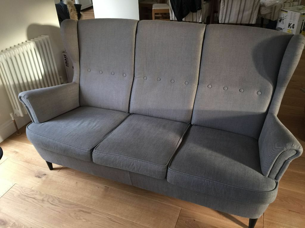 ikea strandmon wing chair sofas 3 seater and 1 seaters in orpington london gumtree. Black Bedroom Furniture Sets. Home Design Ideas