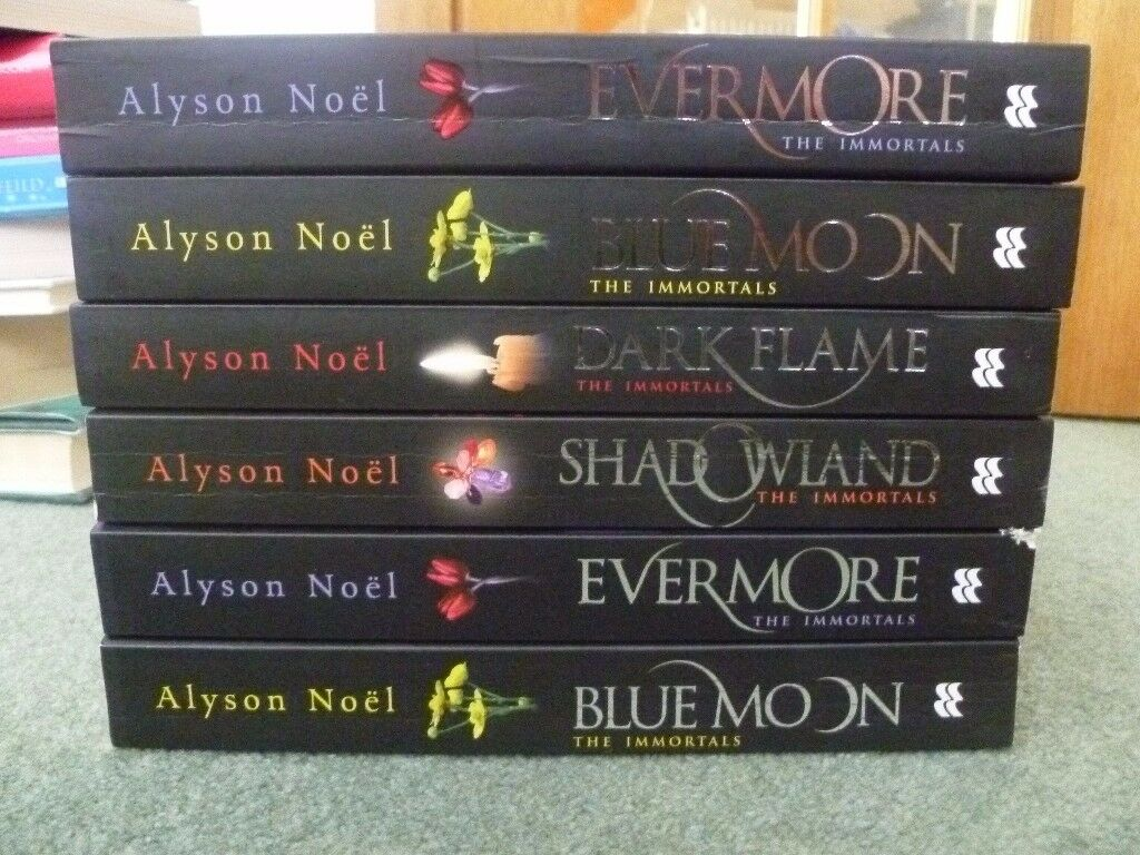 The Immortals Series by Alyson Noel Books