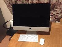 "Apple iMac A1418 21.5"" core i5 2.7ghz , ram 8gb, ssd 128gb"