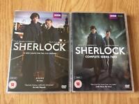 Sherlock DVD series 1 & 2