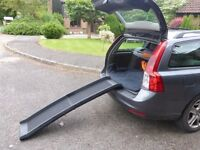 Dog ramp for car. New - never used.