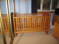 Mamas and Papas Richmond Cot bed
