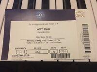 WWE RAW Ticket