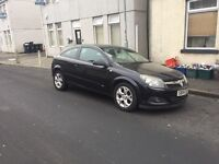 Vauxhall Astra sports hatch coupe in stunning black long mot ,first to view will buy px welcome