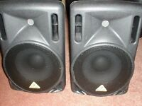 Beheringer B210D Active Speakers Pair for sale -Mint condition