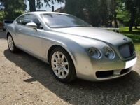 Bentley Continental GT Showroom Condition. 55Reg 2006 Model Year. Full and Recent Bentley Service