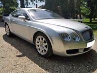 Bentley Continental GT Showroom Condition. 55Reg 2006 Model Year. Full and Recent Bentley Service