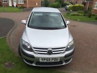 Volkswagon GOLF PLUS in silver