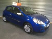 2010 RENAULT CLIO 1.2 I-MUSIC FULL YEARS MOT 6 MONTHS WARRANTY 58K MILES F.S.H CREDIT & DEBIT CARDS