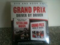 Grand Prix Driver by Driver Book/DVD Gift Set - NEW SEALED